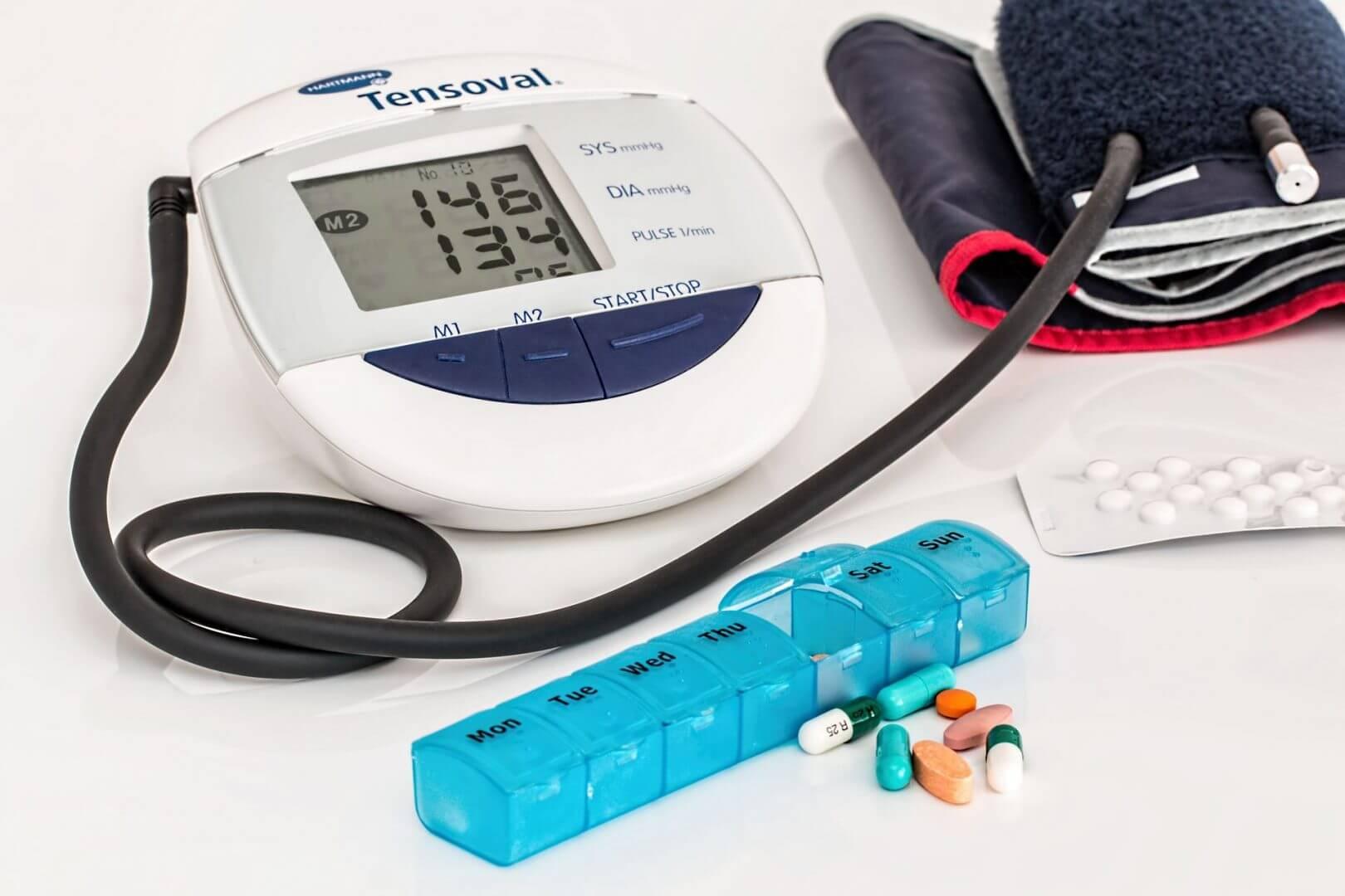 Tabla de presión arterial