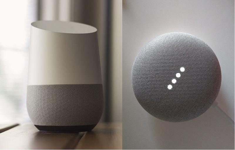 Google Home y Google Home Mini