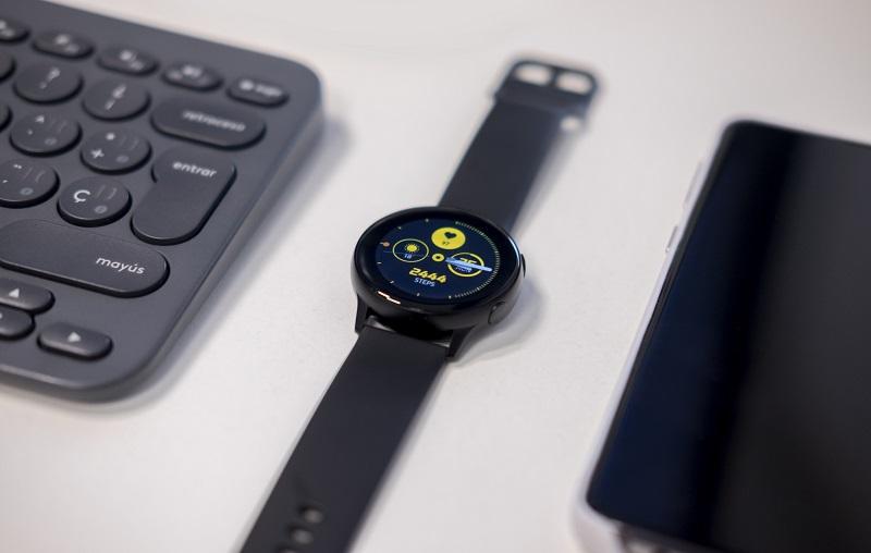 Foto de un reloj smartwatch
